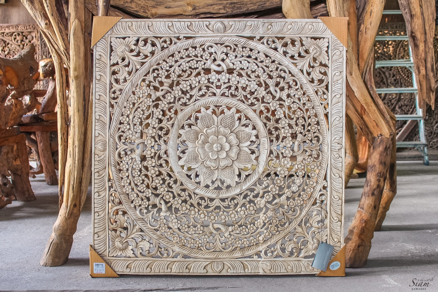 24 Best Of White Carved Wall Decor | Wall Decor Inspiration Throughout Wood Carved Wall Art (Gallery 3 of 20)