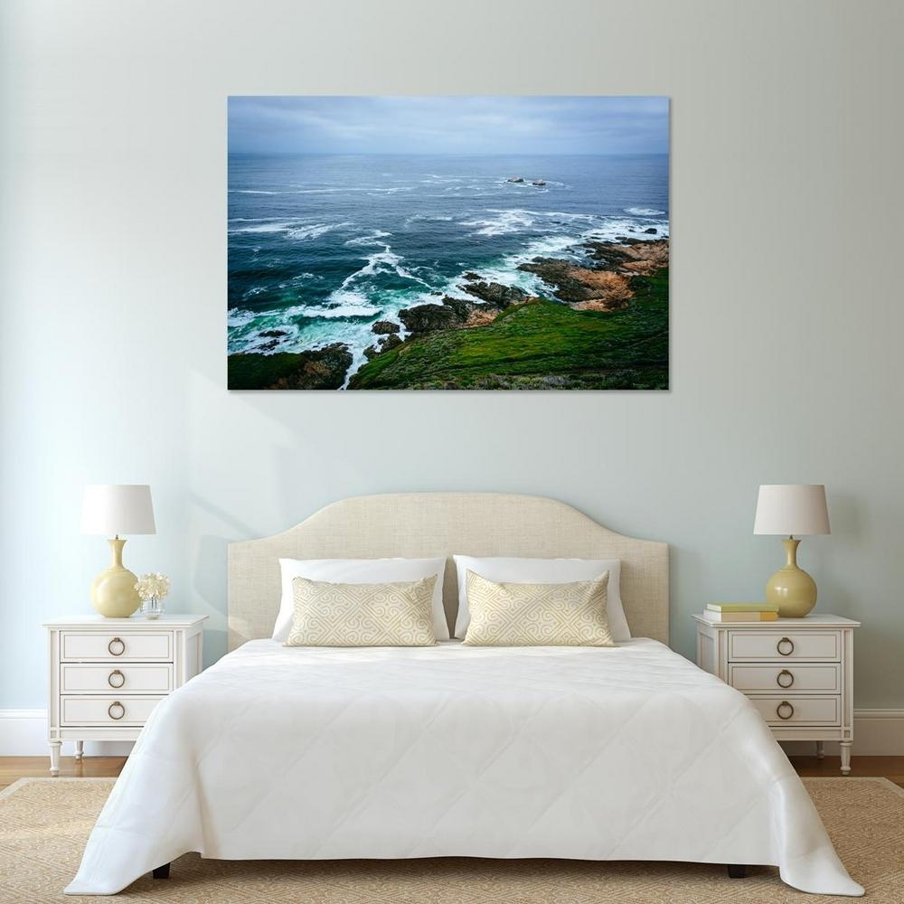 "24 In. X 36 In. ""rocky Coast In Big Sur, California"" Printed Canvas regarding California Wall Art (Image 3 of 20)"