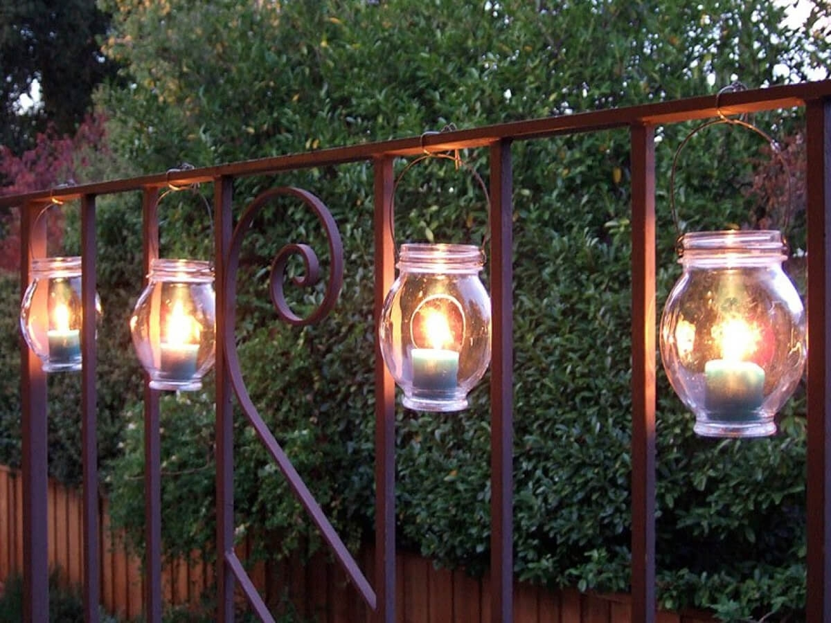 25 Best Diy Outdoor Lighting Ideas And Designs For 2018 Inside Diy Outdoor Lanterns (Photo 7 of 20)
