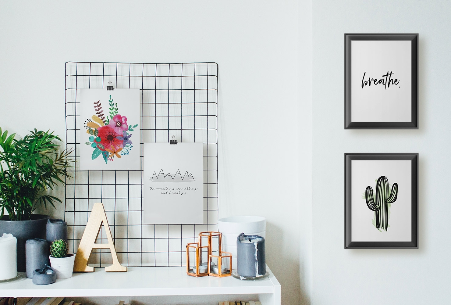 25 Unique Diy Wall Art Ideas (With Printables) | Shutterfly Intended For Diy Wall Art (Gallery 2 of 20)