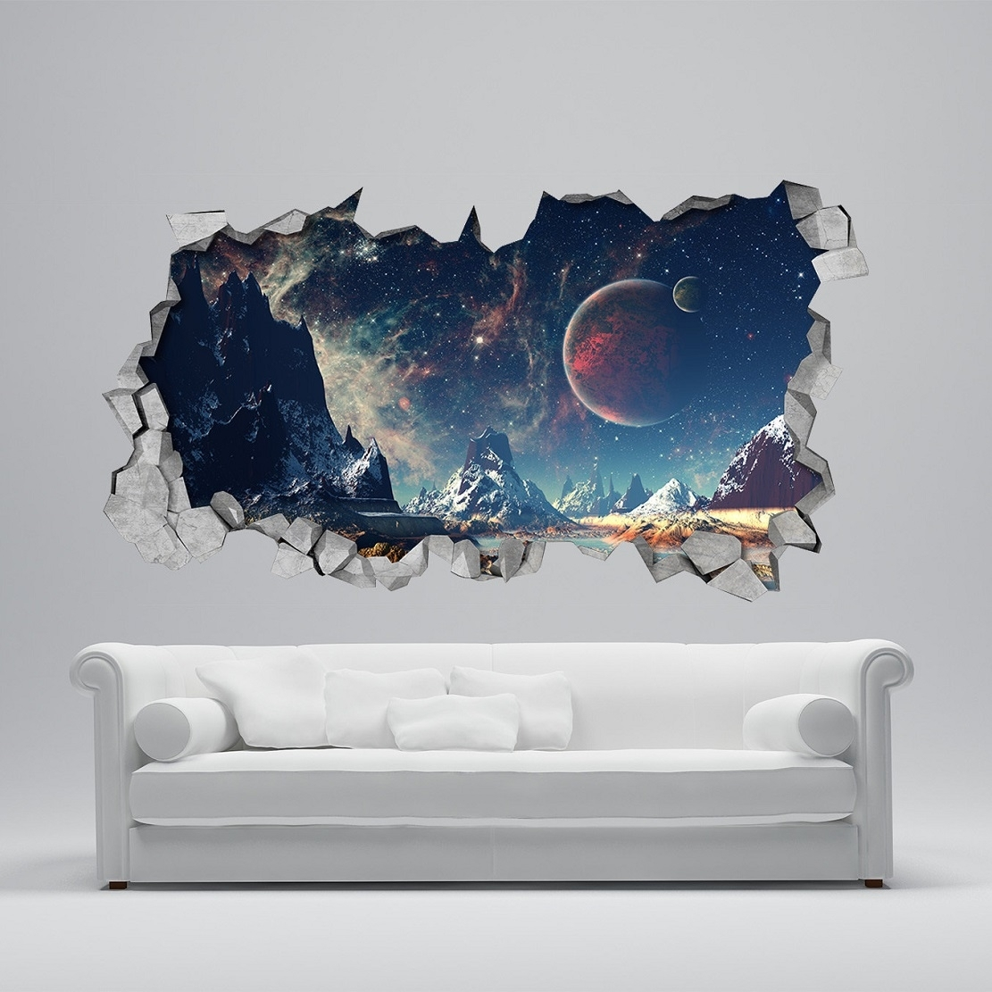 25 Unparalleled 3D Wall Art For Charming Home With Regard To 3D Wall Art (View 2 of 20)