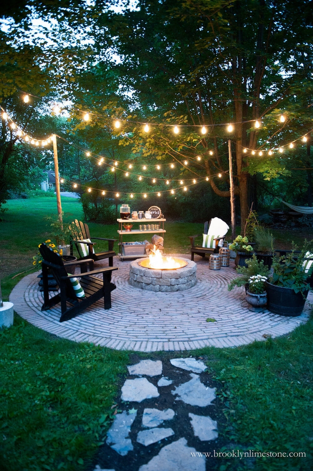 27 Best Backyard Lighting Ideas And Designs For 2018 in Outdoor Yard Lanterns (Image 1 of 20)