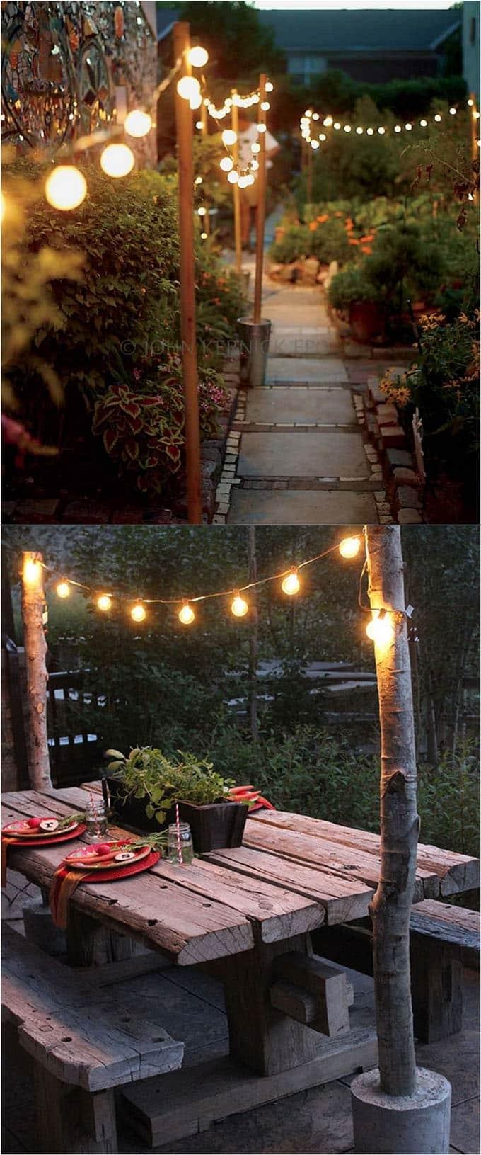 28 Stunning Diy Outdoor Lighting Ideas ( & So Easy! )   A Piece Of Regarding Diy Outdoor Lanterns (Photo 1 of 20)