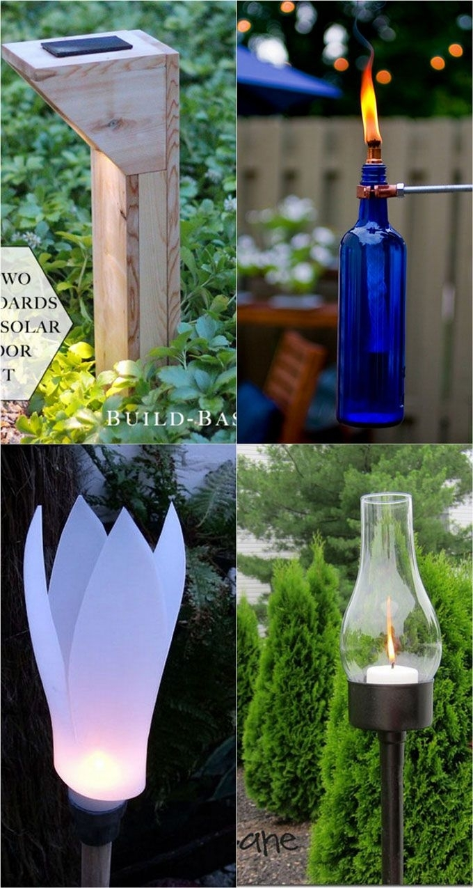 28 Stunning Diy Outdoor Lighting Ideas ( & So Easy! ) | Diy Outdoors With Diy Outdoor Lanterns (Photo 3 of 20)