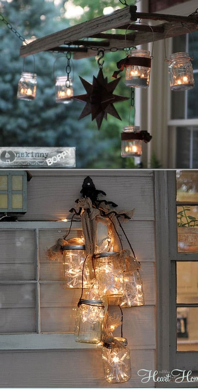 28 Stunning Diy Outdoor Lighting Ideas ( & So Easy! ) – Page 3 Of 3 With Regard To Diy Outdoor Lanterns (Gallery 6 of 20)