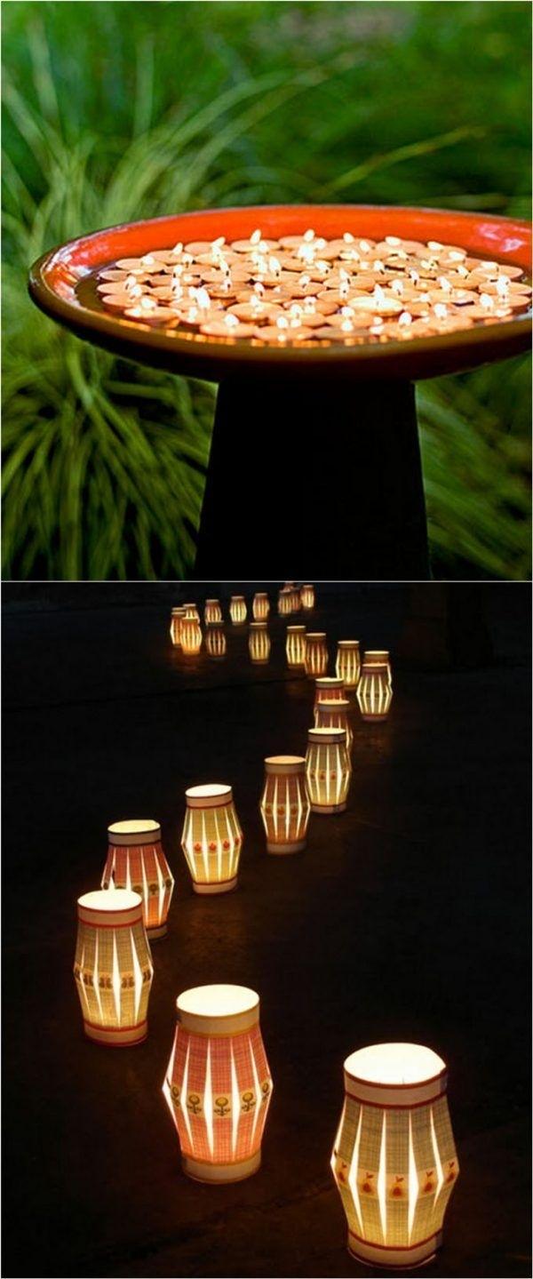 28 Stunning Diy Outdoor Lighting Ideas ( & So Easy | Pinterest for Diy Outdoor Lanterns (Image 3 of 20)