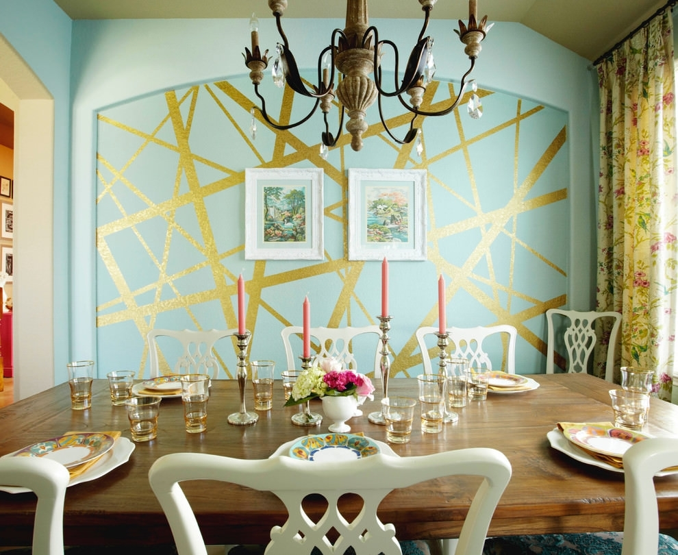 29+ Wall Decor Designs, Ideas For Dining Room | Design Trends Within Wall Art For Dining Room (Photo 11 of 20)