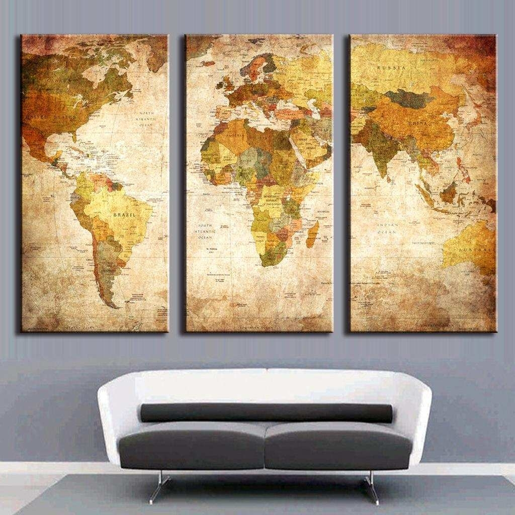 3 Canvas Paintings New Framed Canvas Wall Art Popular Giant Canvas For Popular Wall Art (Photo 16 of 20)