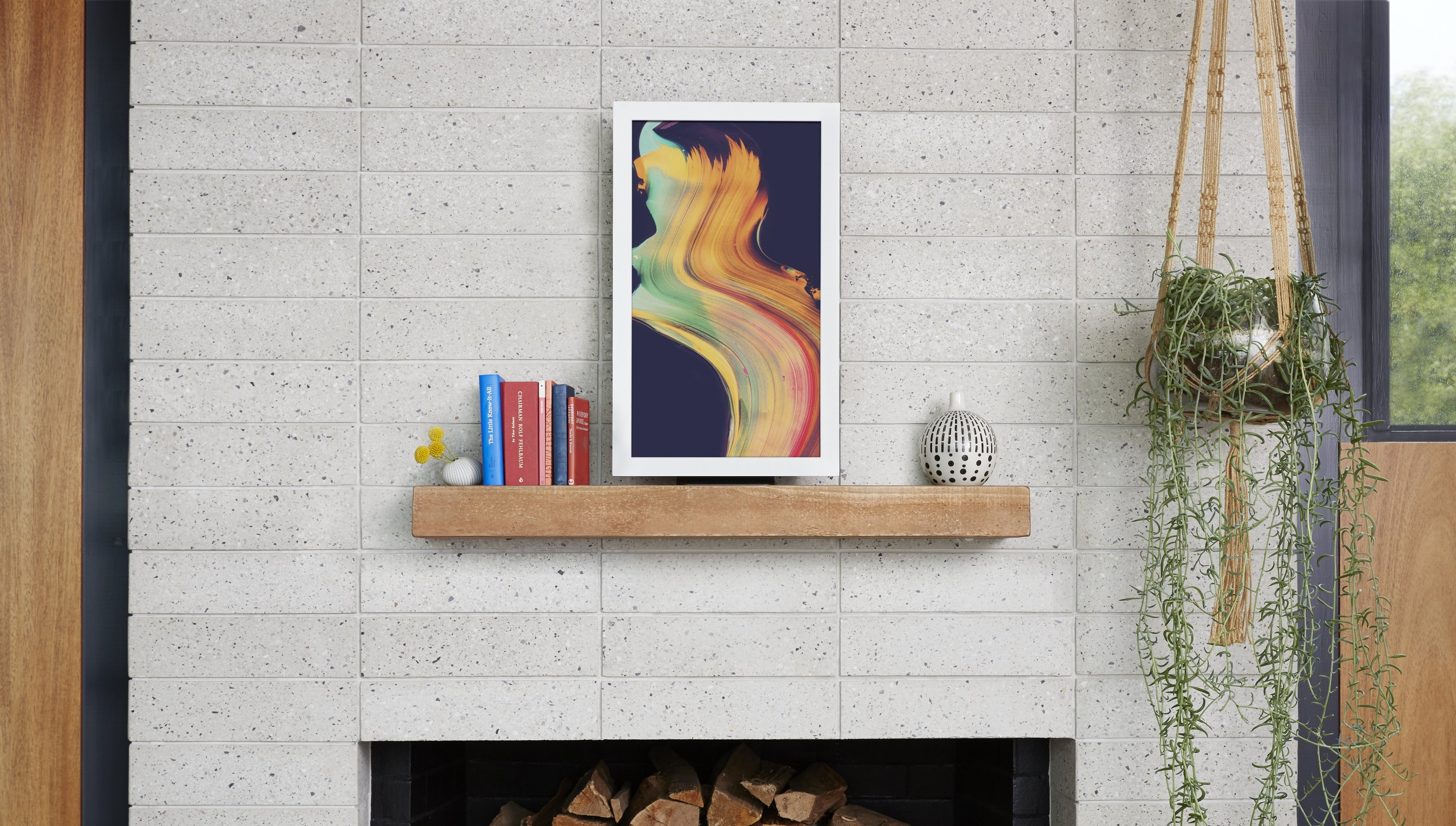 3 Digital Art Frames To Display The Classics And Your Instagram within Instagram Wall Art (Image 2 of 20)