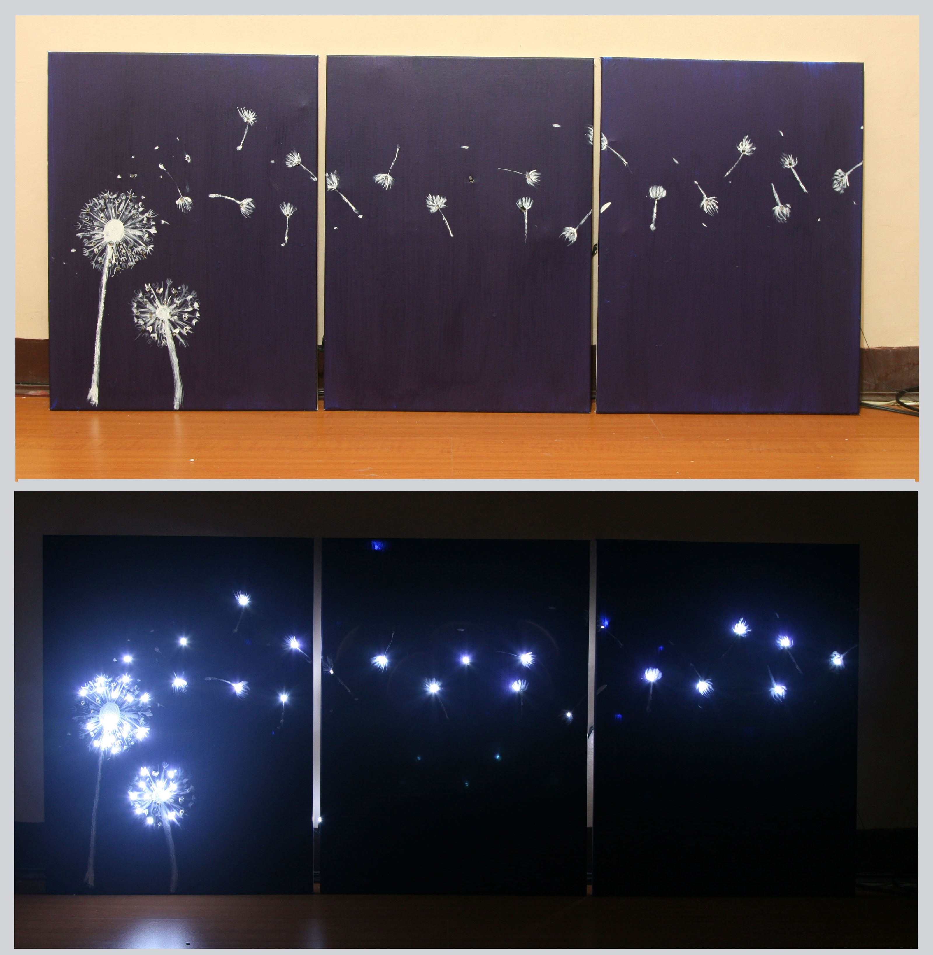Featured Photo of Light Up Wall Art