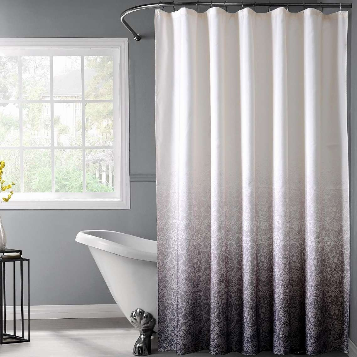 32 Lovely Shower Curtain Wall Art Ideas Narrow Shower Curtain Ideas Regarding Shower Curtain Wall Art (Photo 20 of 20)