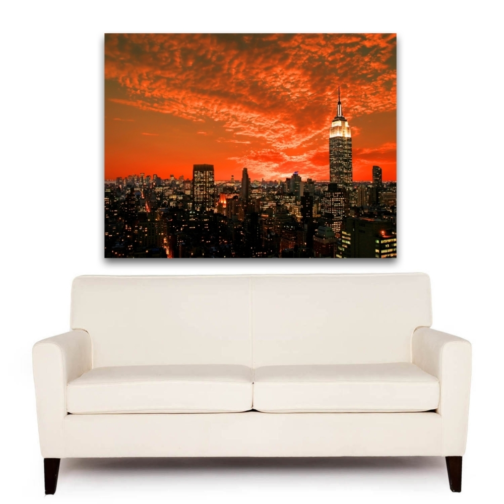 32 Orange Wall Art, Living Room Decor Square Wall Decor Orange Wall in Orange Wall Art (Image 3 of 20)