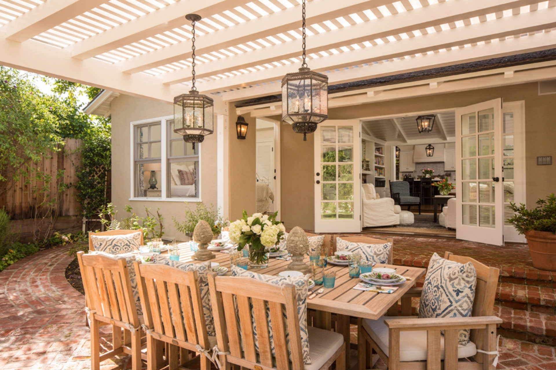 33 Neat Design Outdoor Lantern Lighting Ideas Five Pergola To pertaining to Outdoor Dining Lanterns (Image 3 of 20)