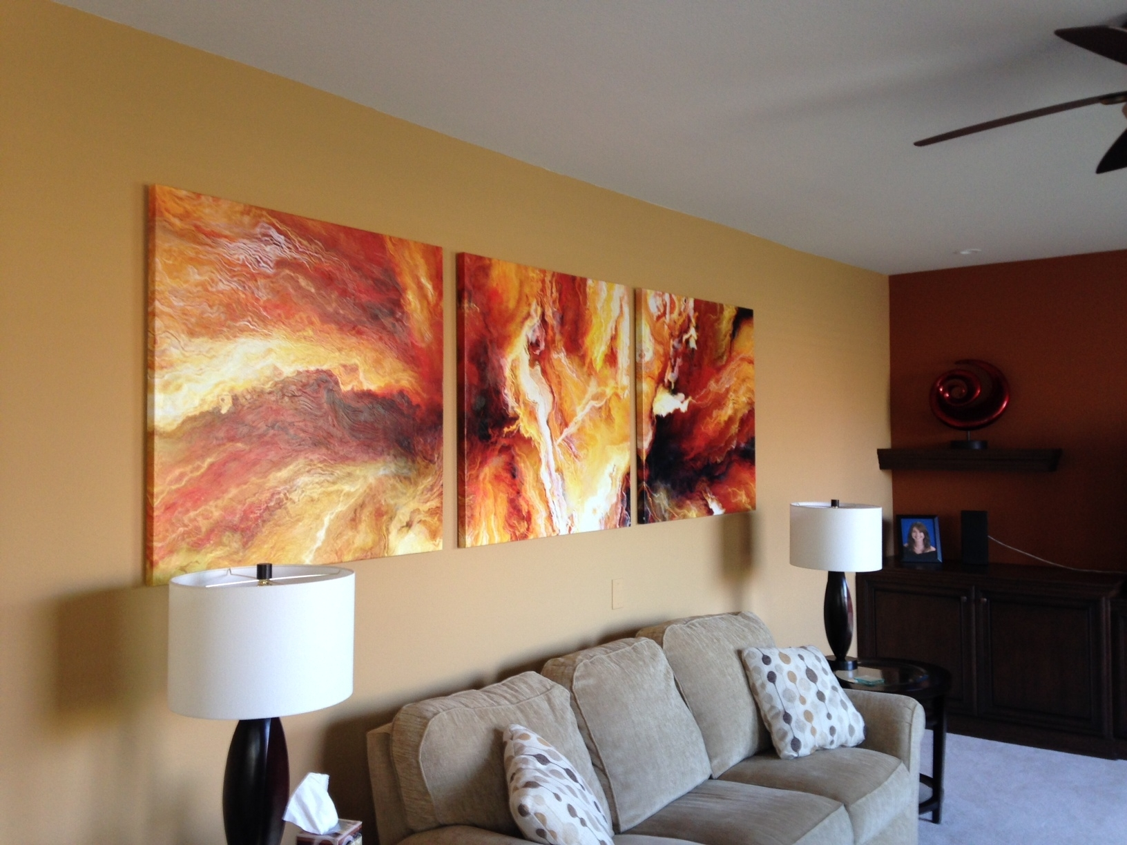 33 Vibrant Oversized Wall Art For Living Room Decorations Diy With Large Framed Canvas Wall Art (Photo 14 of 20)