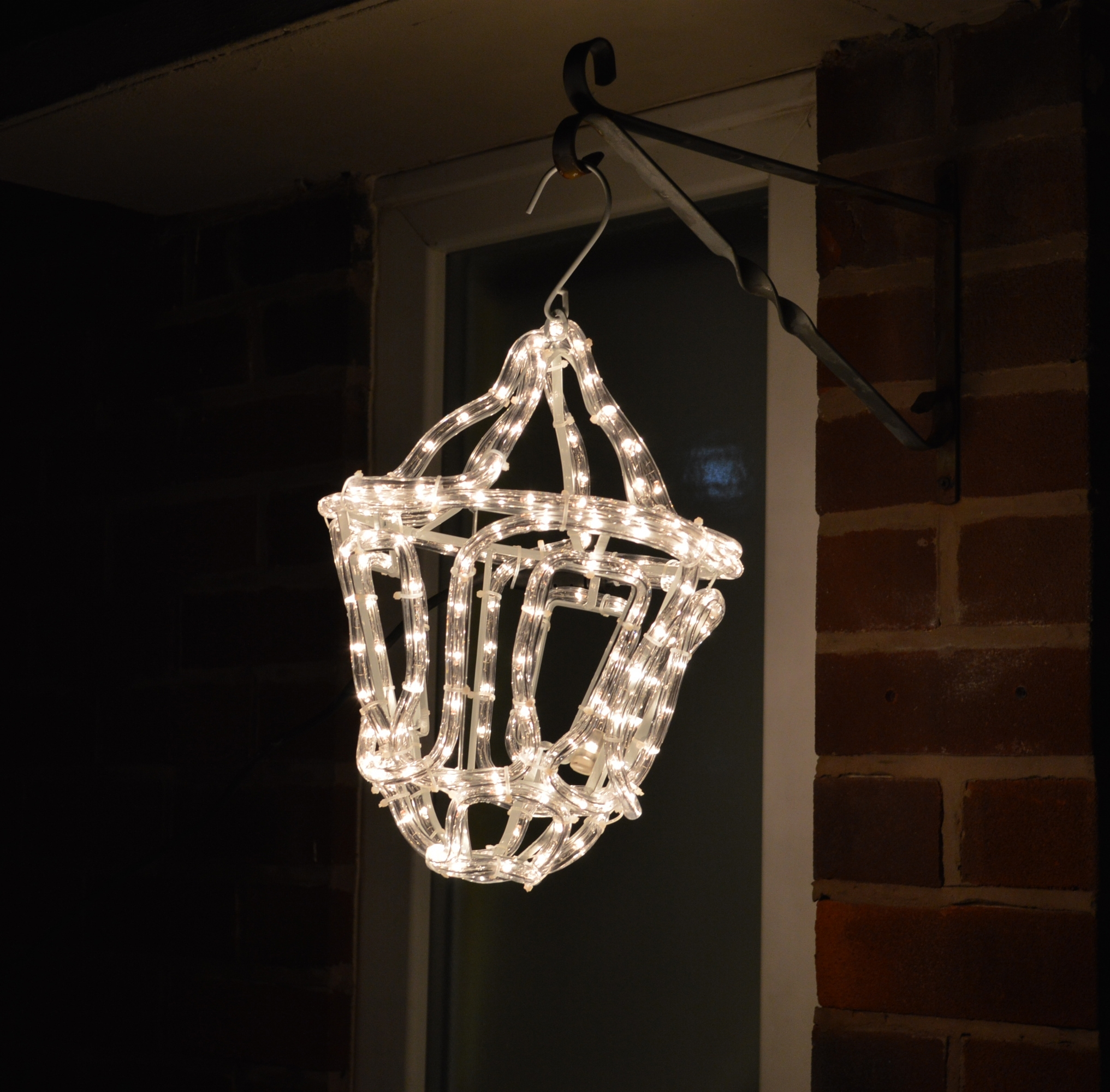 33Cm Premier Outdoor Led Lantern Rope Light Christmas Decoration In regarding Outdoor Christmas Rope Lanterns (Image 5 of 20)