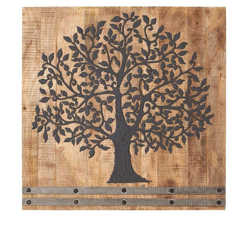 36 In. H X 36 In. W Arbor Tree Of Life Wall Art-1470300210 - The within Tree Wall Art (Image 1 of 20)