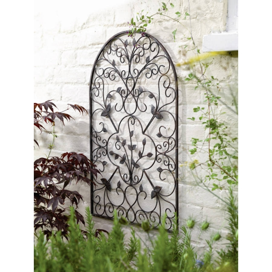 38 Outdoor Metal Wall Art, Image Gallery Large Outdoor Wall Art with regard to Outdoor Metal Wall Art (Image 1 of 20)