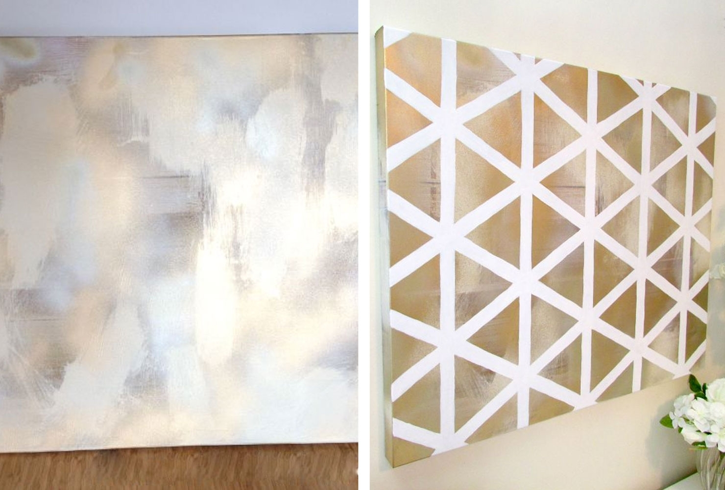 39 Beautiful Diy Canvas Painting Ideas For Your Home | Shutterfly Within Diy Canvas Wall Art (Photo 7 of 20)