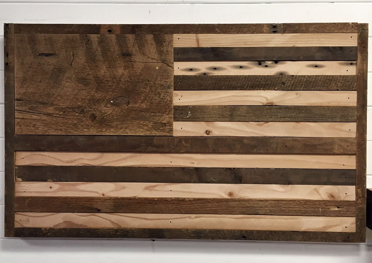 39 Wooden American Flag Wall Art, Wooden American Flag Decor Wooden Within Wooden American Flag Wall Art (Photo 7 of 20)