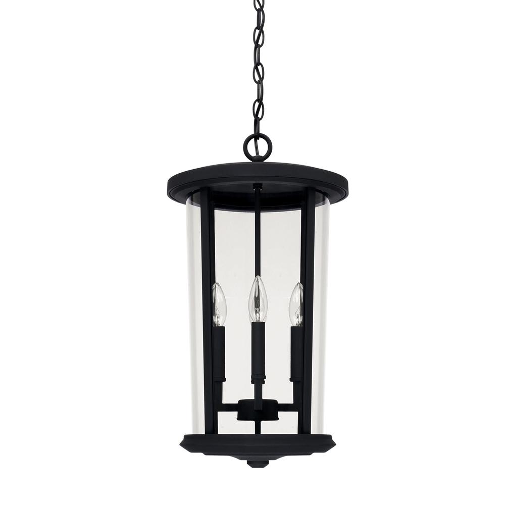 4 Light Outdoor Hanging Lantern : 926742Bk | B And R Electric regarding Outdoor Hanging Electric Lanterns (Image 3 of 20)