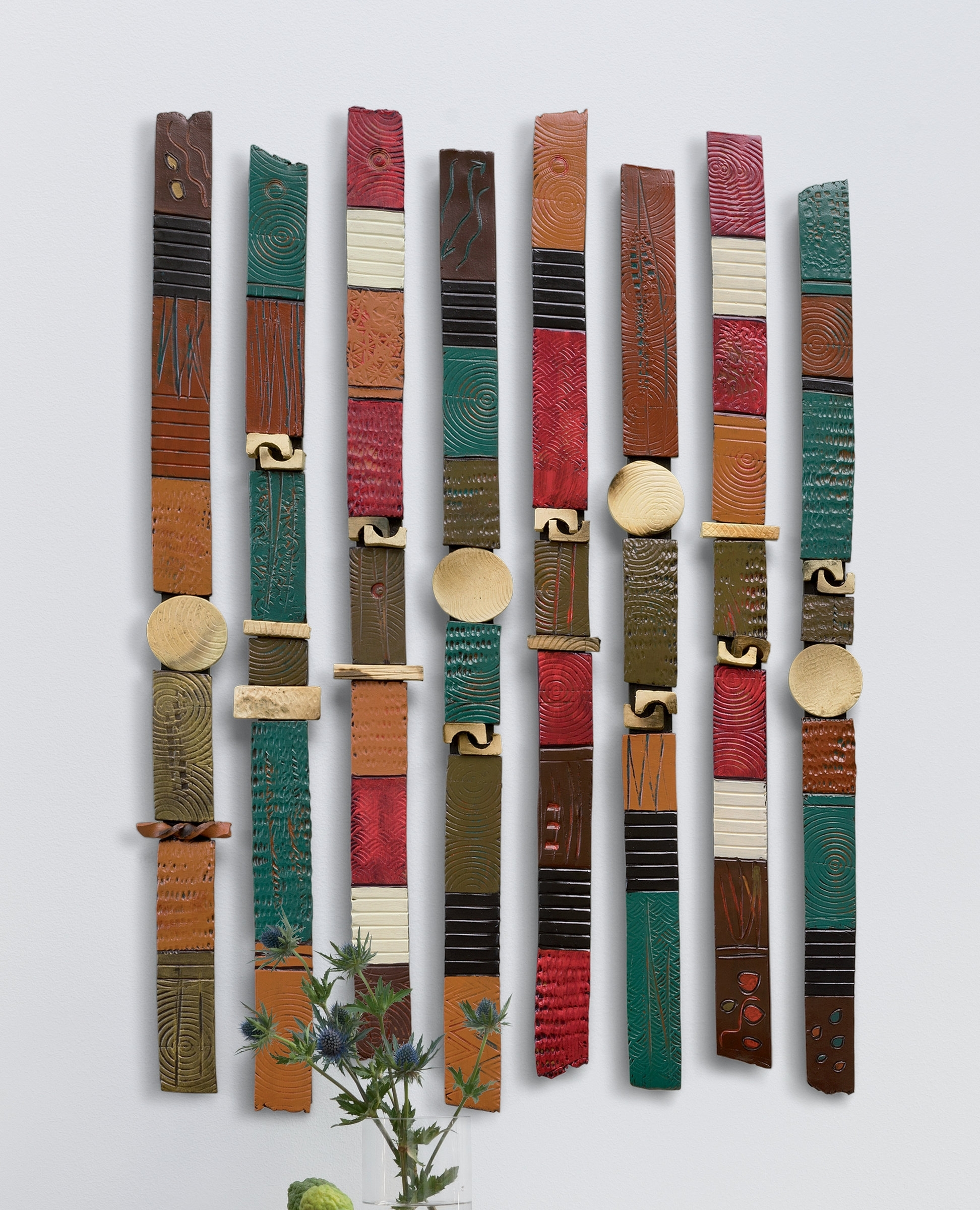 43 Ceramic Wall Art, Structured Claimchristopher Gryder (Ceramic with Ceramic Wall Art (Image 2 of 20)