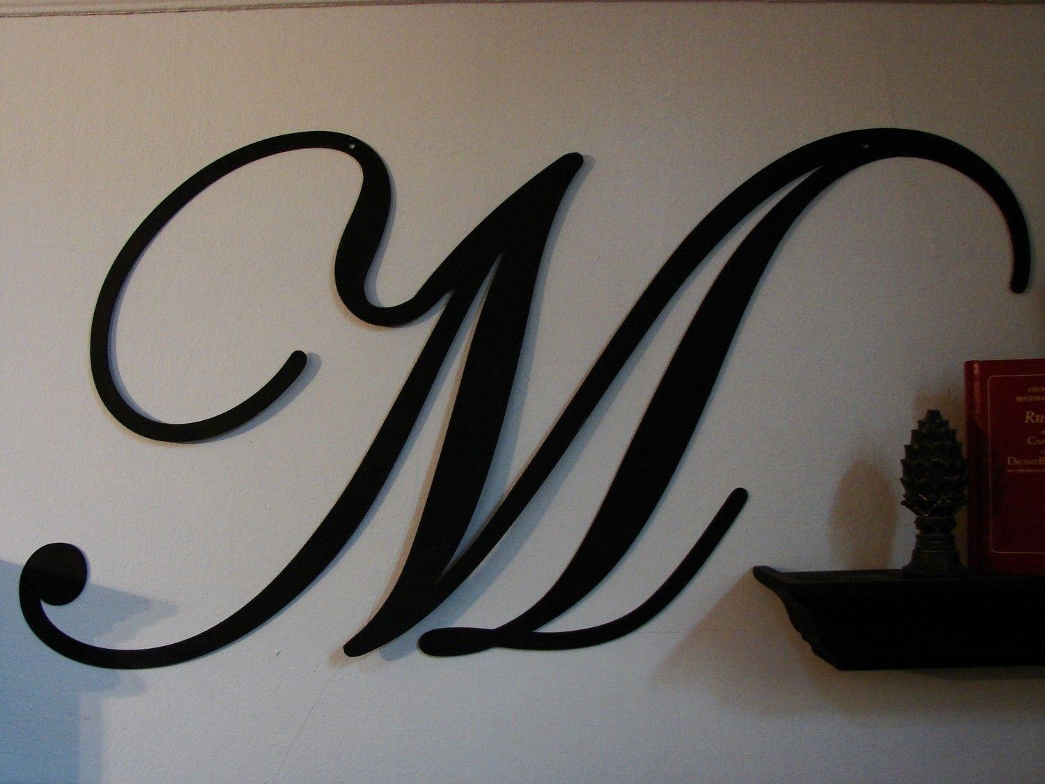 43 Lovely Wall Decor Letters | Wall Decor Inspiration in Metal Letter Wall Art (Image 2 of 20)