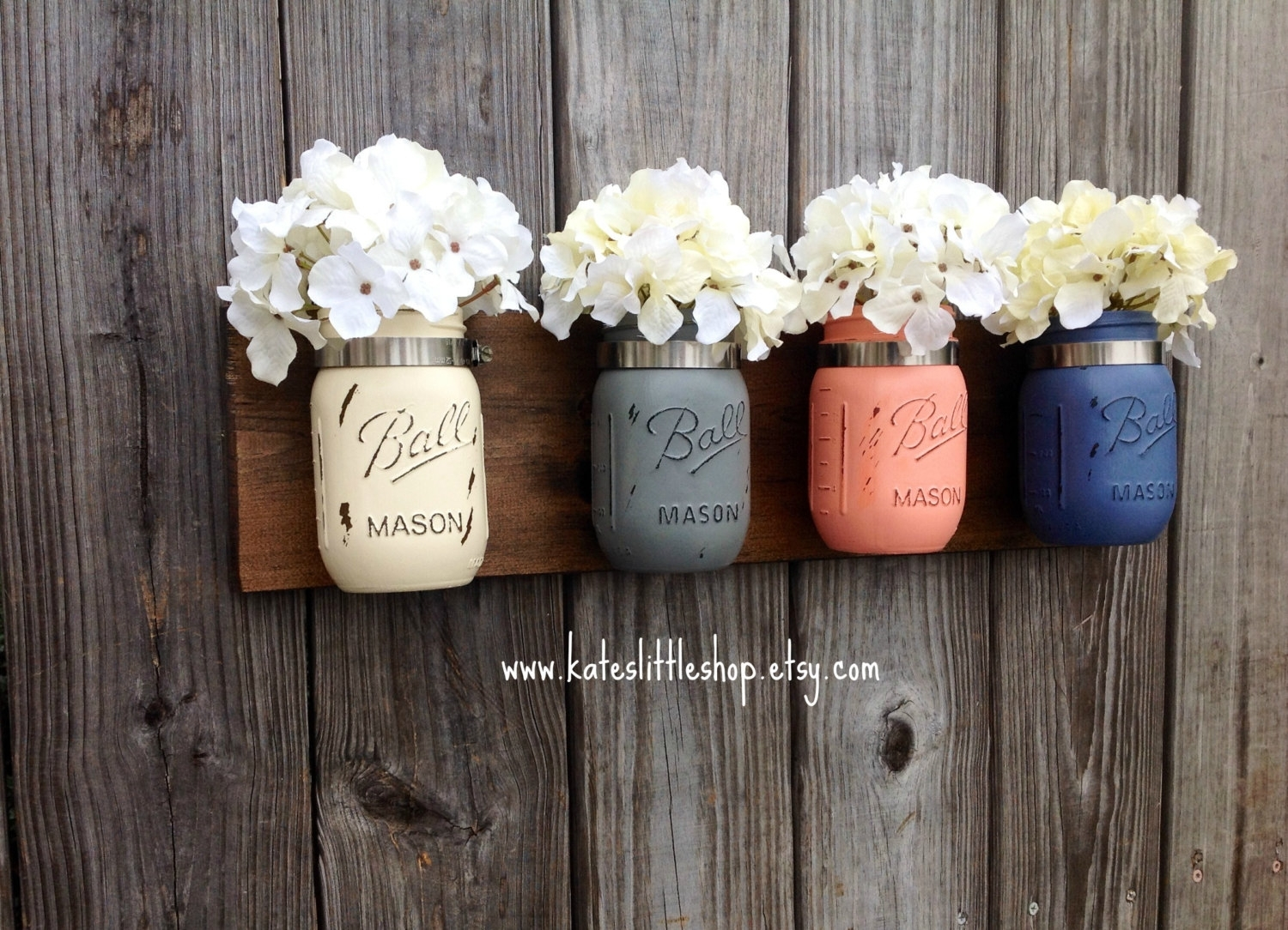 43 Mason Jar Wall Art, Burlap Buttons: Mason Jar Wall Decor with regard to Mason Jar Wall Art (Image 5 of 20)