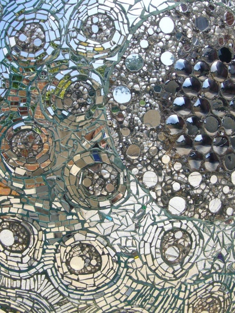 46 Mirror Mosaic Wall Art, Buy Decorshore Brown Traditional Mosaic Throughout Mirror Mosaic Wall Art (View 17 of 20)