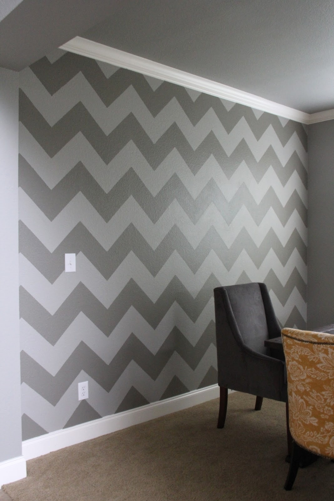 5 8 12 010 19 Diy Chevron Wall Art | Albertstreetmotors Pertaining To Chevron Wall Art (Photo 13 of 20)