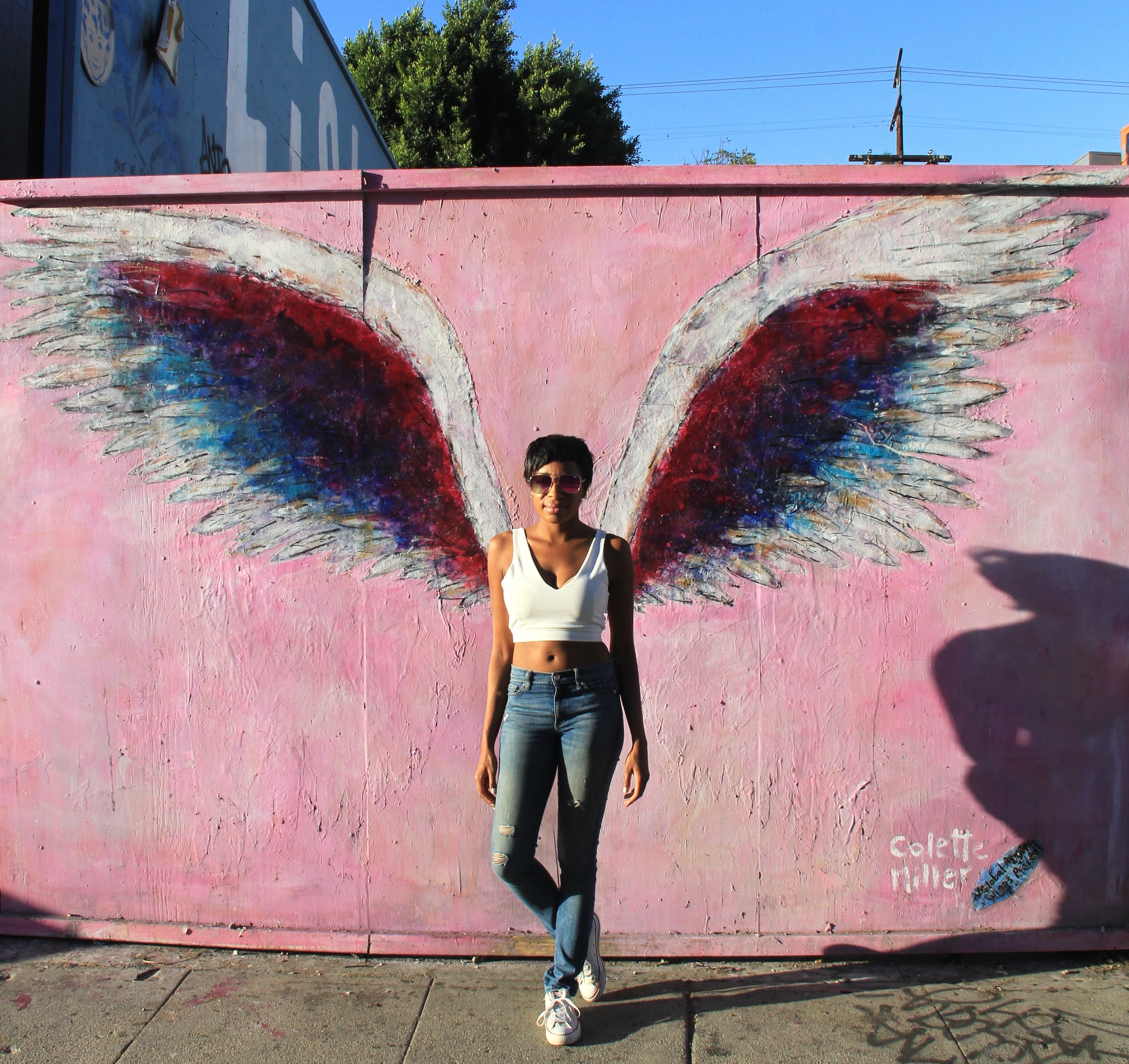 5 Insta Worthy Walls On Melrose Ave In Los Angeles – Throughout Los Angeles Wall Art (Photo 12 of 20)