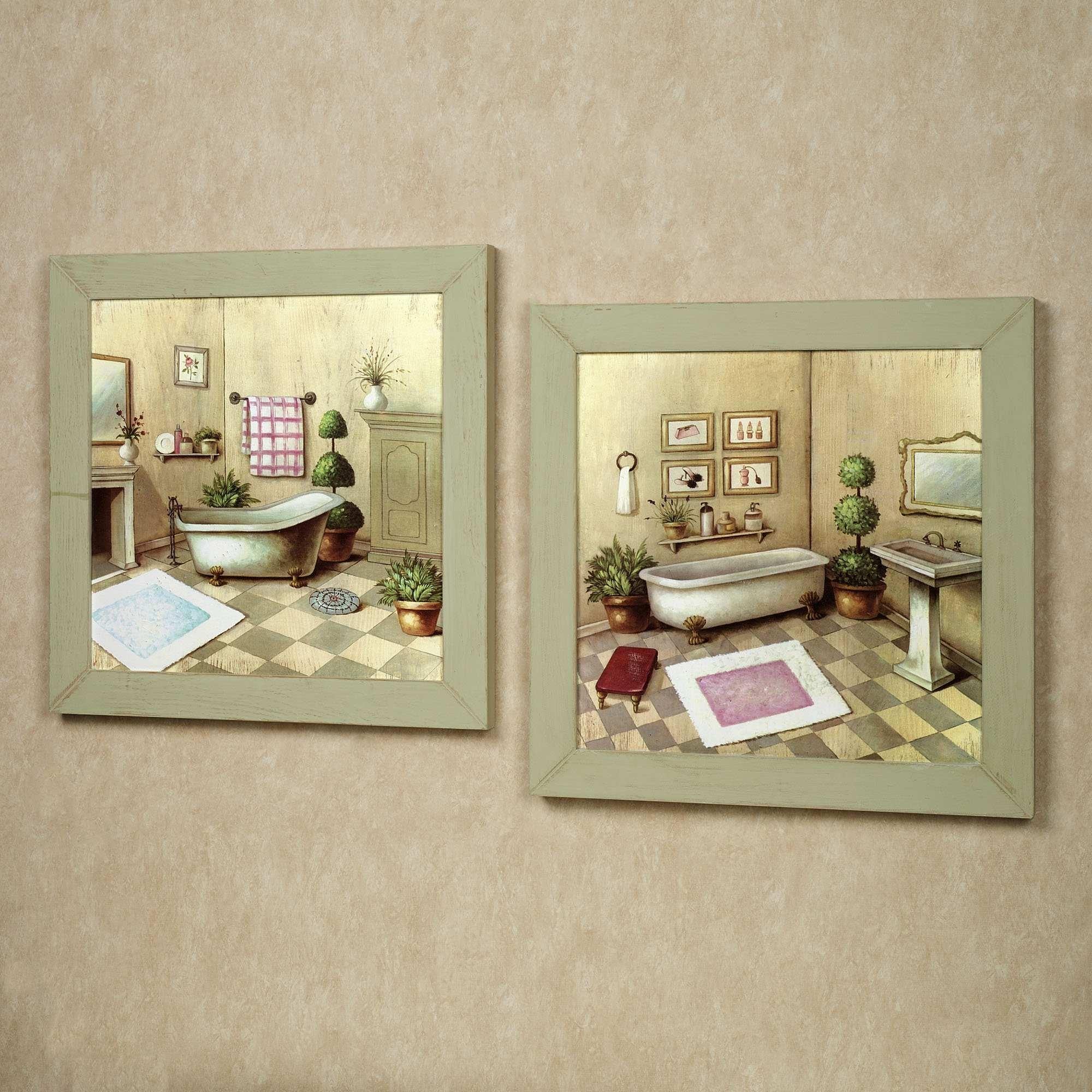 50 Bathroom Wall Art Ideas Decor | Painting Ideas Within Wall Art For Bathroom (Photo 19 of 20)