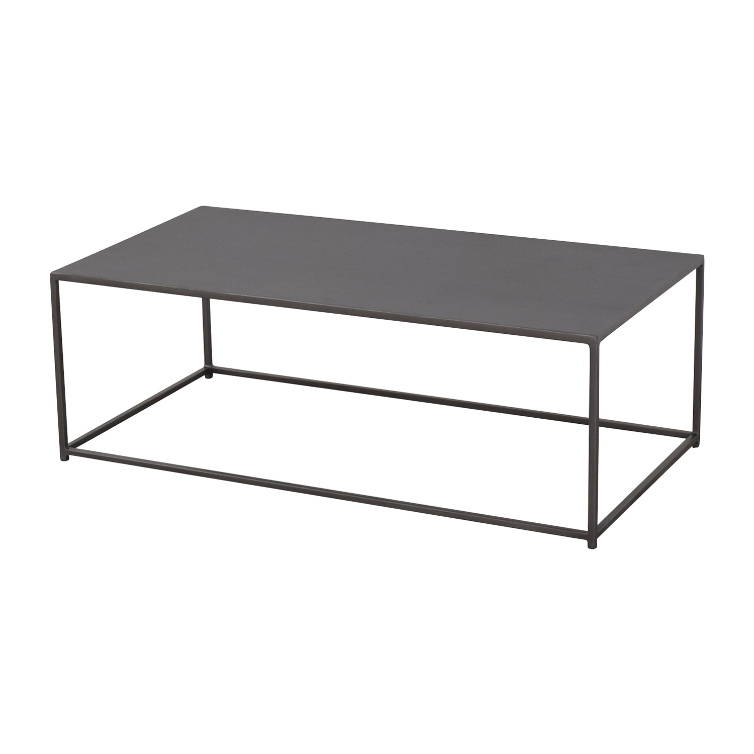 51% Off   Cb2 Cb2 Mill Industrial Iron Coffee Table / Tables For Mill Coffee Tables (Photo 1 of 30)