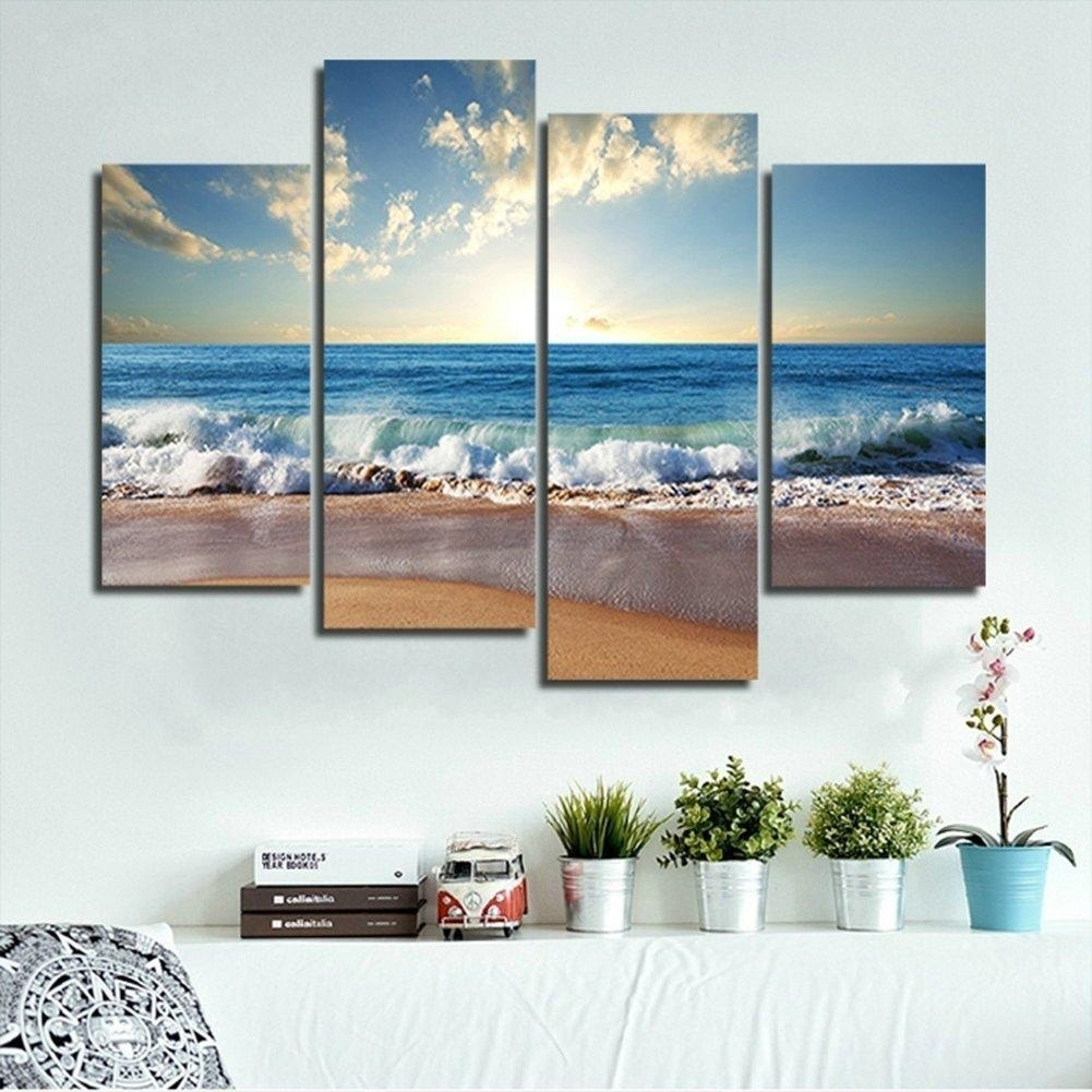 53 Large Canvas Wall Art, Large 3 Pc Modern Abstract Canvas Wall Art for Modern Framed Wall Art Canvas (Image 3 of 20)