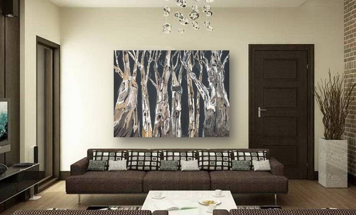 53 Large Canvas Wall Art, Large 3 Pc Modern Abstract Canvas Wall Art Regarding Modern Large Canvas Wall Art (Photo 20 of 20)
