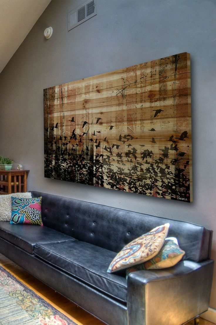 57 Big Wall Art, Unique Pallet Wall Art Ideas And Designs Gallery Throughout Big Wall Art (Photo 16 of 20)