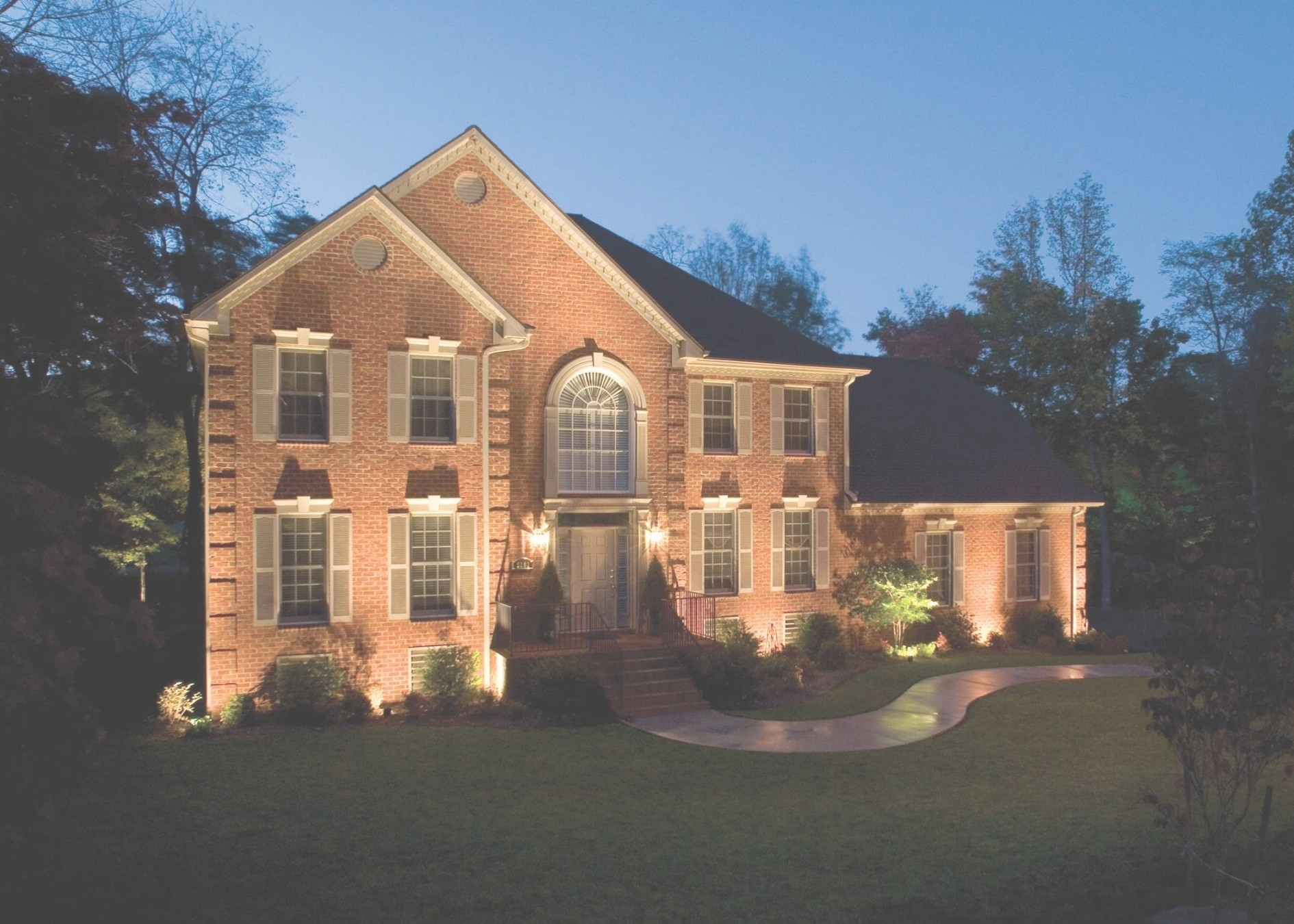 6 Reasons For Outdoor Lighting | Kg Landscape Management With With Regard To Outdoor Lanterns For House (Gallery 18 of 20)