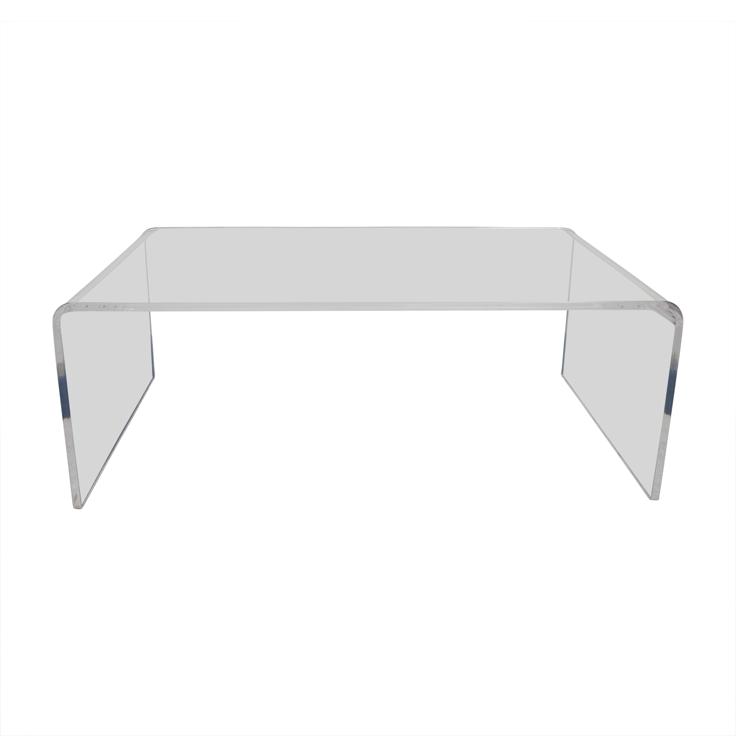 60% Off - Cb2 Cb2 Peekaboo Acrylic Coffee Table / Tables in Peekaboo Acrylic Coffee Tables (Image 1 of 30)