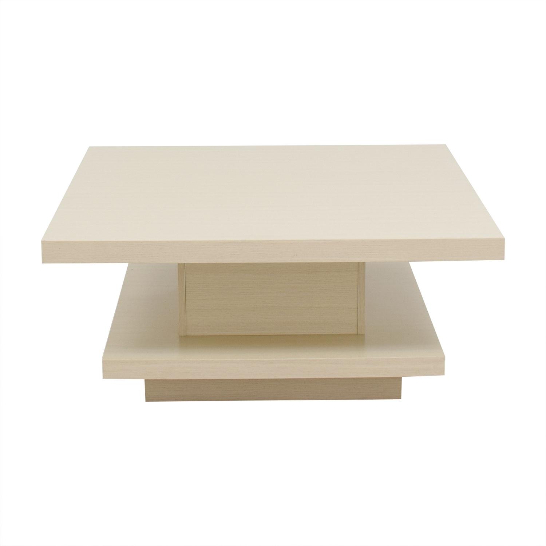60% Off   Cb2 Cb2 Peekaboo Acrylic Ghost Tall Coffee Table / Tables Throughout Peekaboo Acrylic Tall Coffee Tables (Photo 15 of 30)