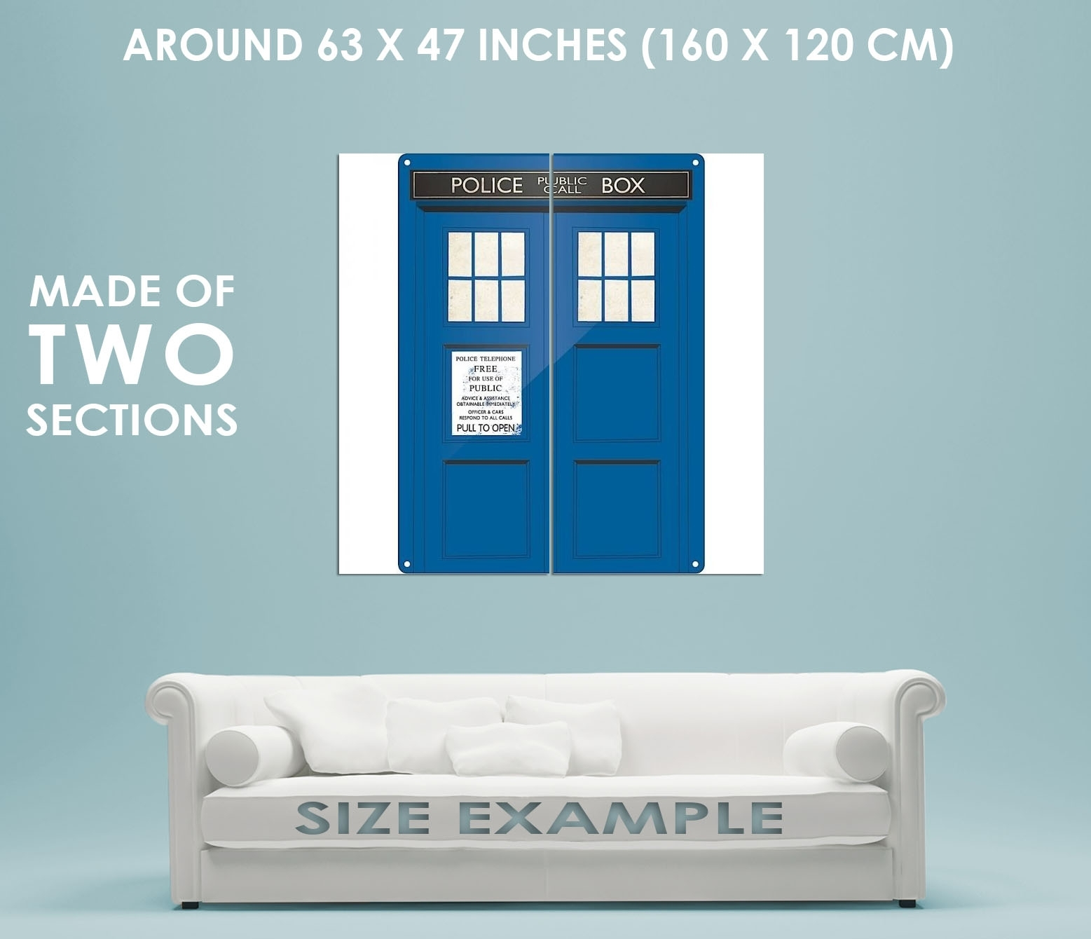 88548 Doctor Who Tardis Wall Art Sign Decor Wall Print Poster Au   Ebay Within Doctor Who Wall Art (Photo 18 of 20)