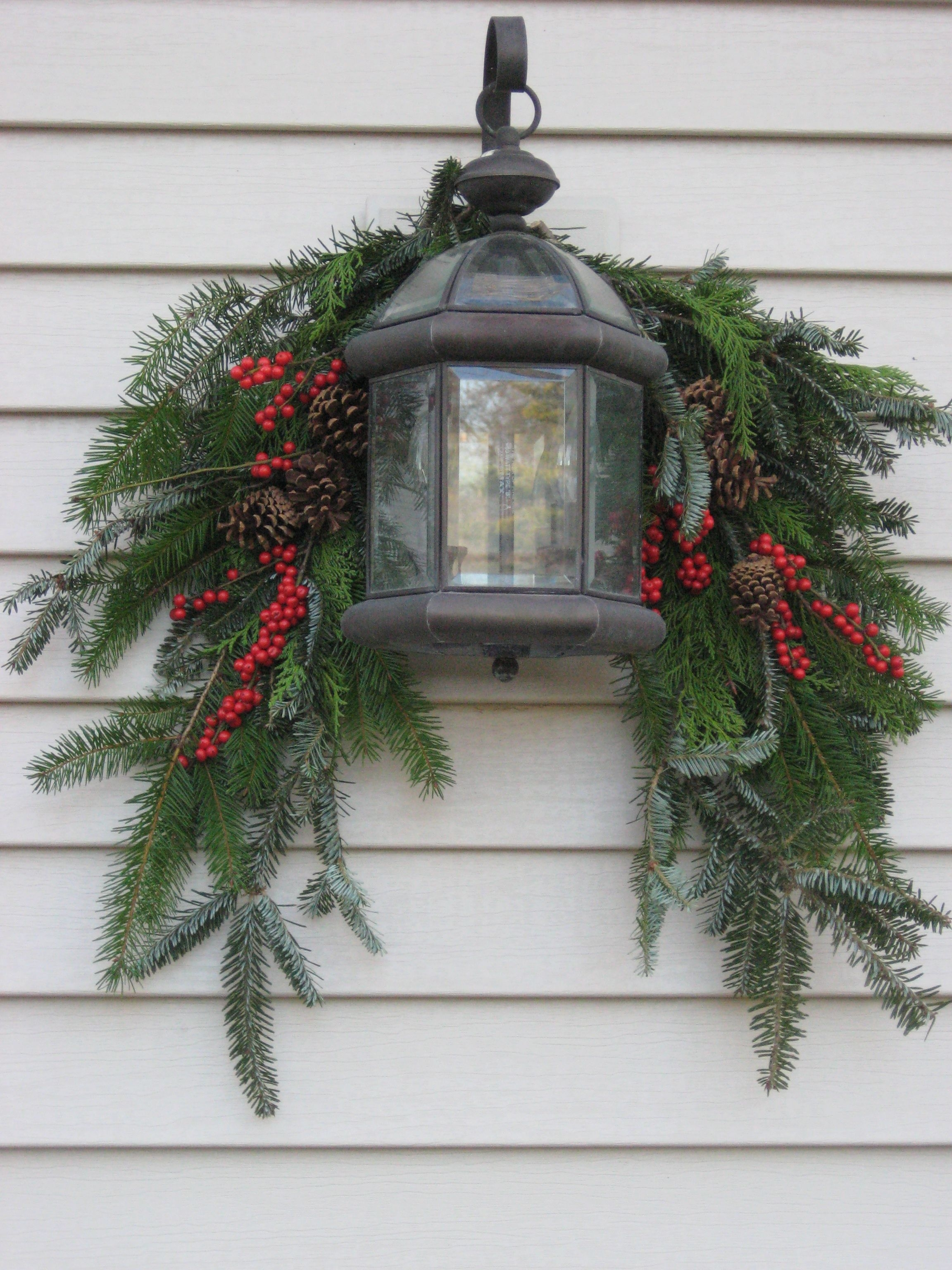 A Guide To Beautiful (And Not Tacky) Outdoor Holiday Decor In 2018 in Outdoor Lanterns for Christmas (Image 3 of 20)