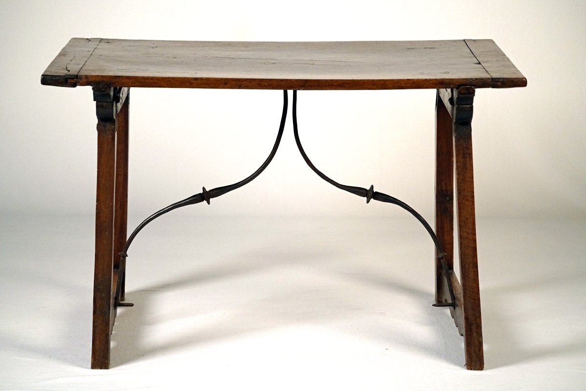 A Spanish Baroque Walnut Table | Le Trianon Antiques Pertaining To Spanish Coffee Tables (View 4 of 30)