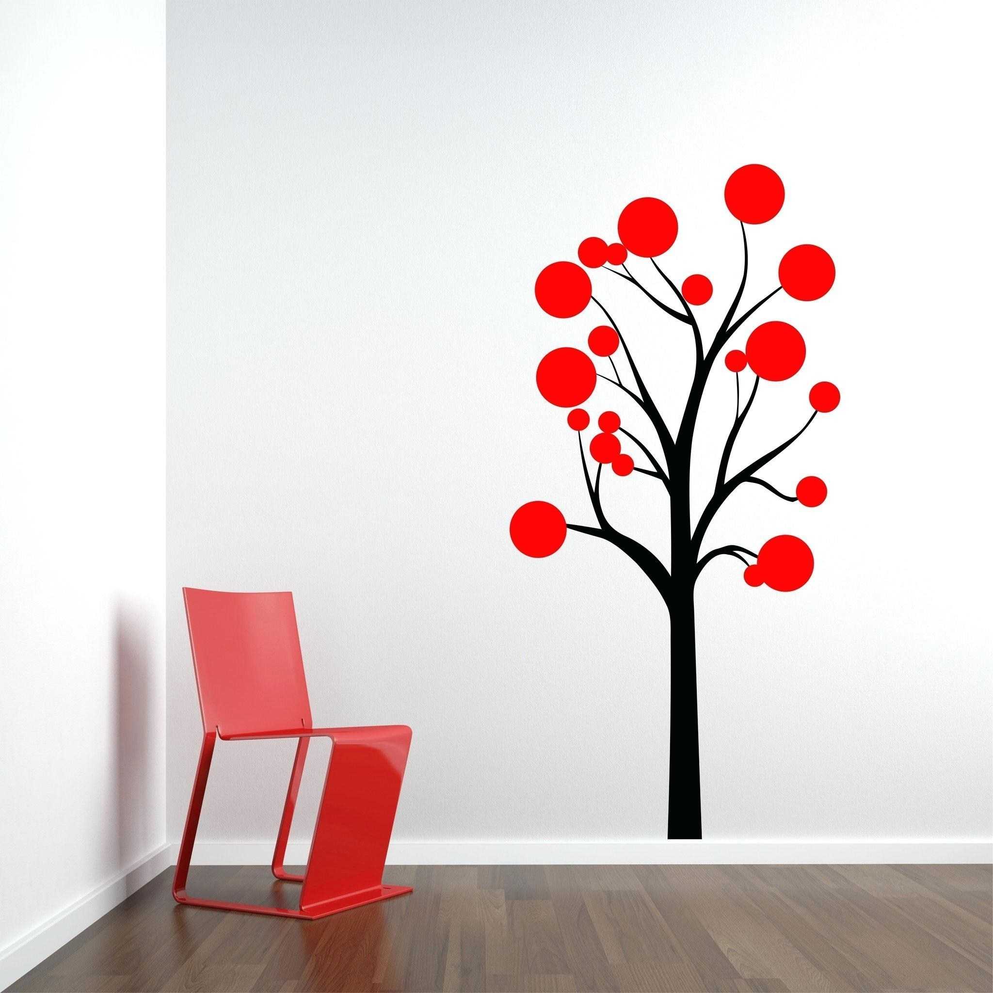 Absorbing Red Cherry Blossom Wall Art Red Cherry Blossom Wall Art pertaining to Cherry Blossom Wall Art (Image 2 of 20)