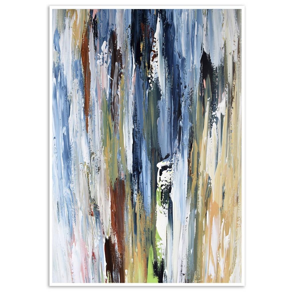 Abstract Art Print, Abstract Wall Art Decor Framedomar Obaid inside Abstract Wall Art (Image 4 of 20)