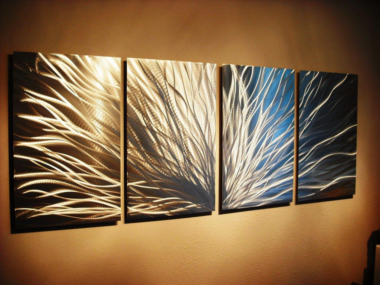 Abstract Metal Wall Art Painting — Biaf Media Home Design With Abstract Metal Wall Art (View 19 of 20)