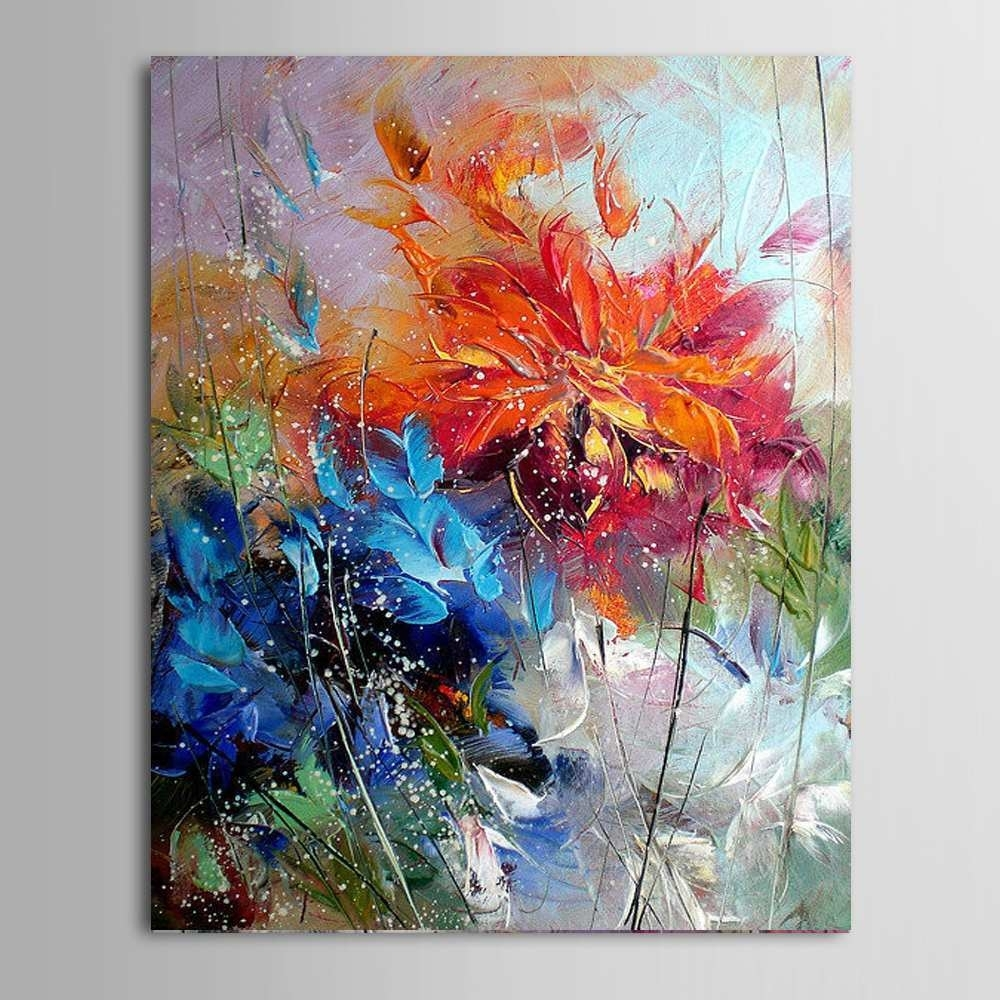 Abstract Oil Painting On Canvas Best Of Ba Oil Painting Big Size regarding Abstract Oil Painting Wall Art (Image 10 of 20)