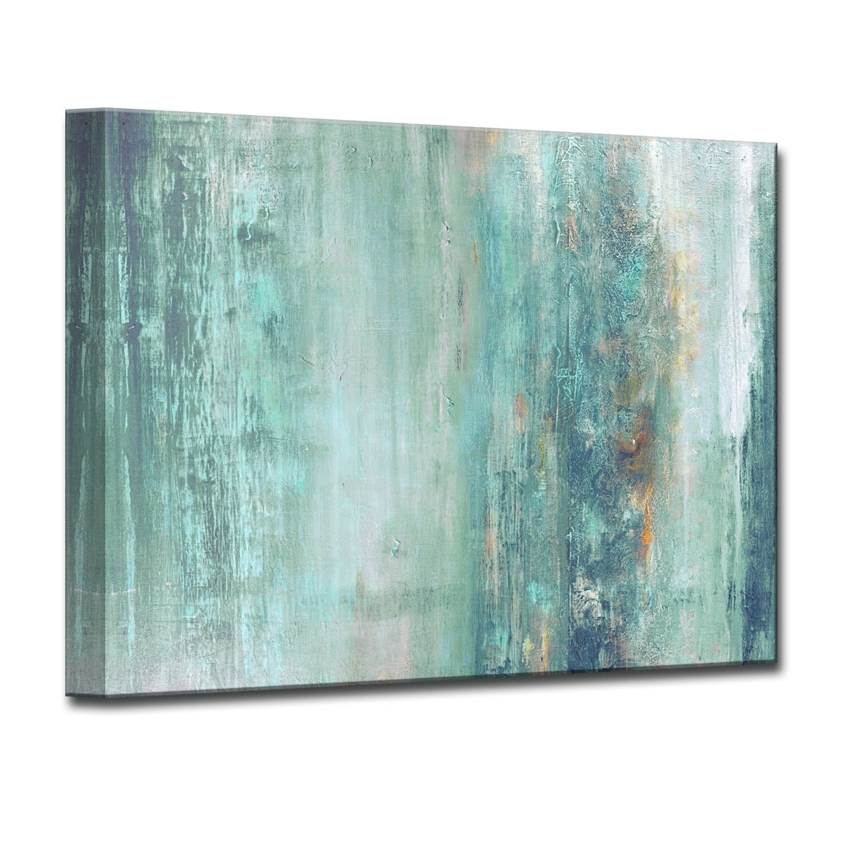 Abstract Spa' Wrapped Graphic Art Print On Canvas & Reviews | Joss regarding Joss And Main Wall Art (Image 1 of 20)