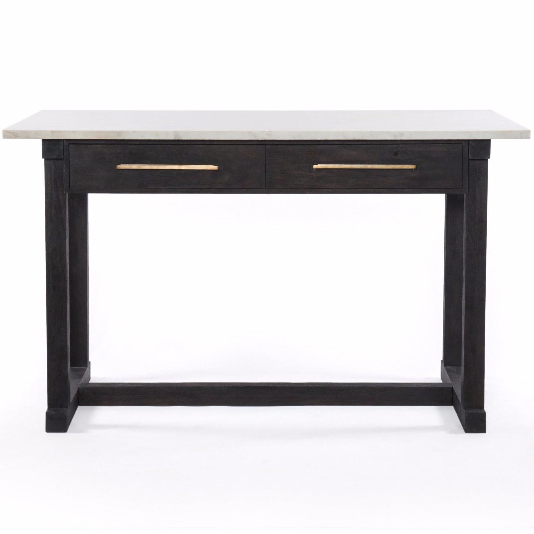 "Accent Tables:cayson Counter Table In Dark Anthracite Designbd inside Chevron 48"" Coffee Tables (Image 1 of 9)"