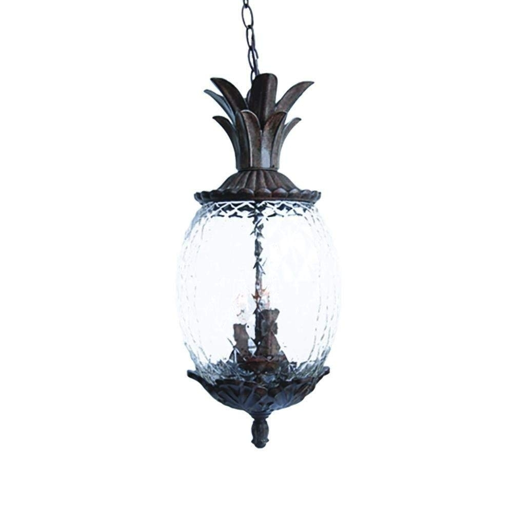 Acclaim 7516Bc Lanai Collection 3-Light Outdoor Light Fixture with regard to Outdoor Pineapple Lanterns (Image 4 of 20)