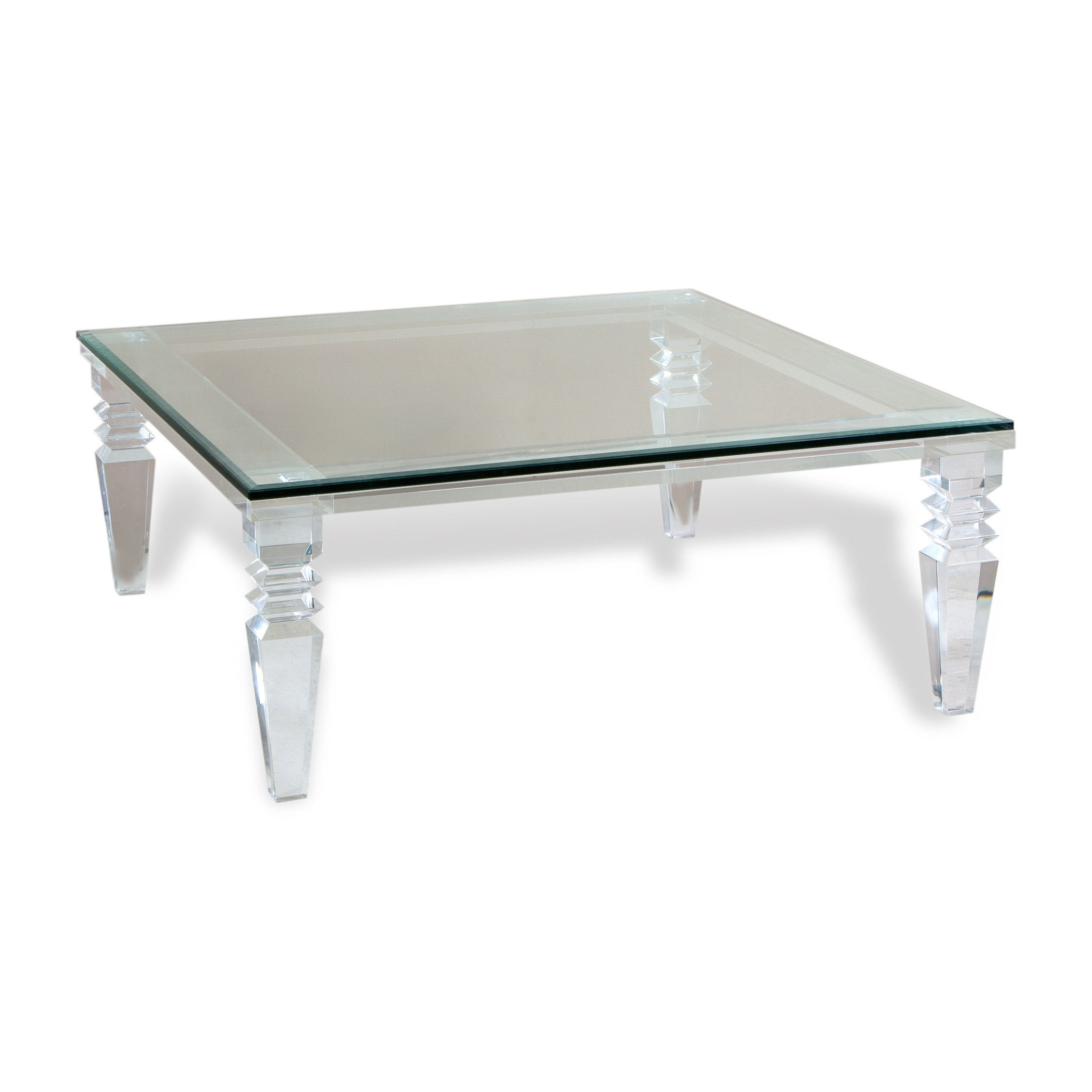 Acrylic Coffee Table For Sale Lovely Furniture Clear Glass Coffee intended for Peekaboo Acrylic Coffee Tables (Image 7 of 30)