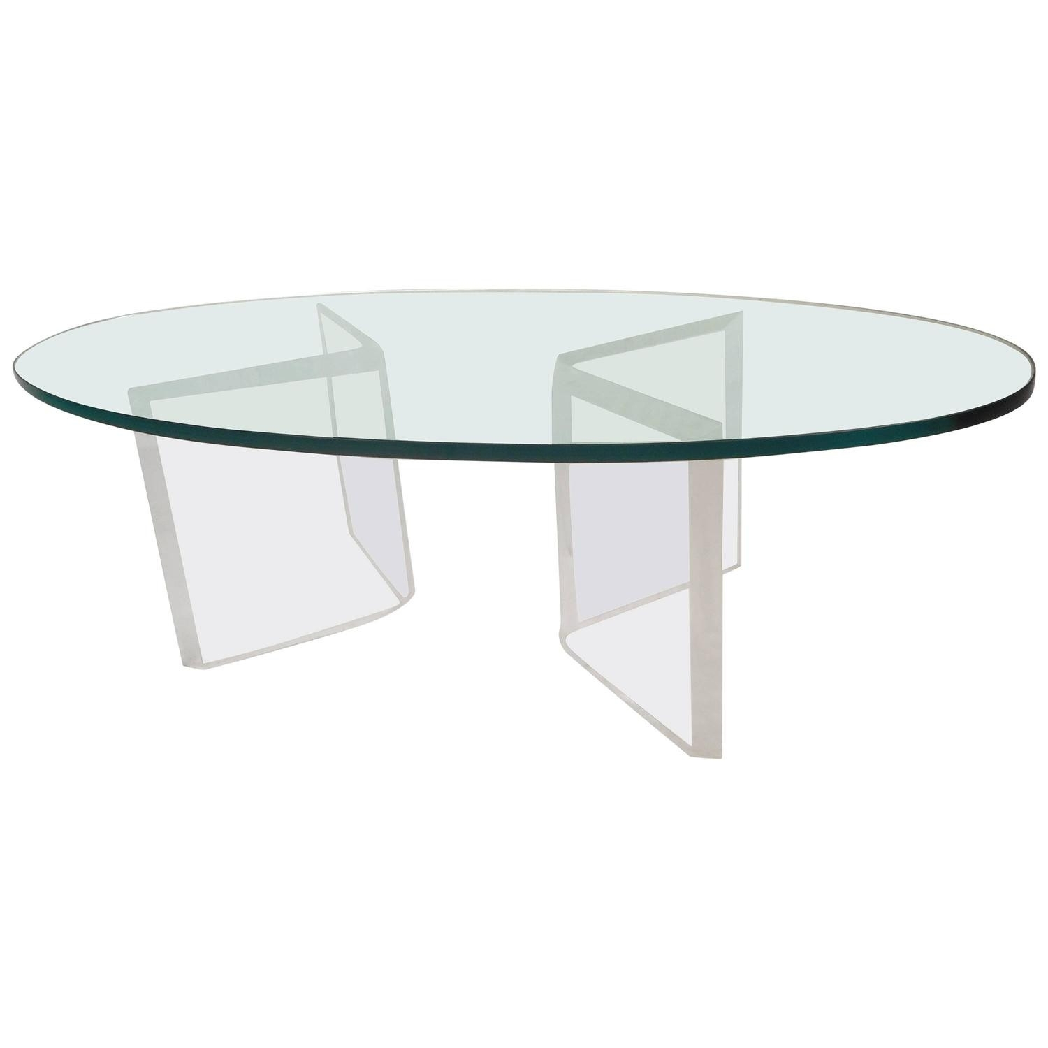 Acrylic Coffee Table For Sale New Mid Century Modern Occasional in Modern Acrylic Coffee Tables (Image 3 of 30)
